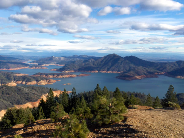 northern california's lake shasta